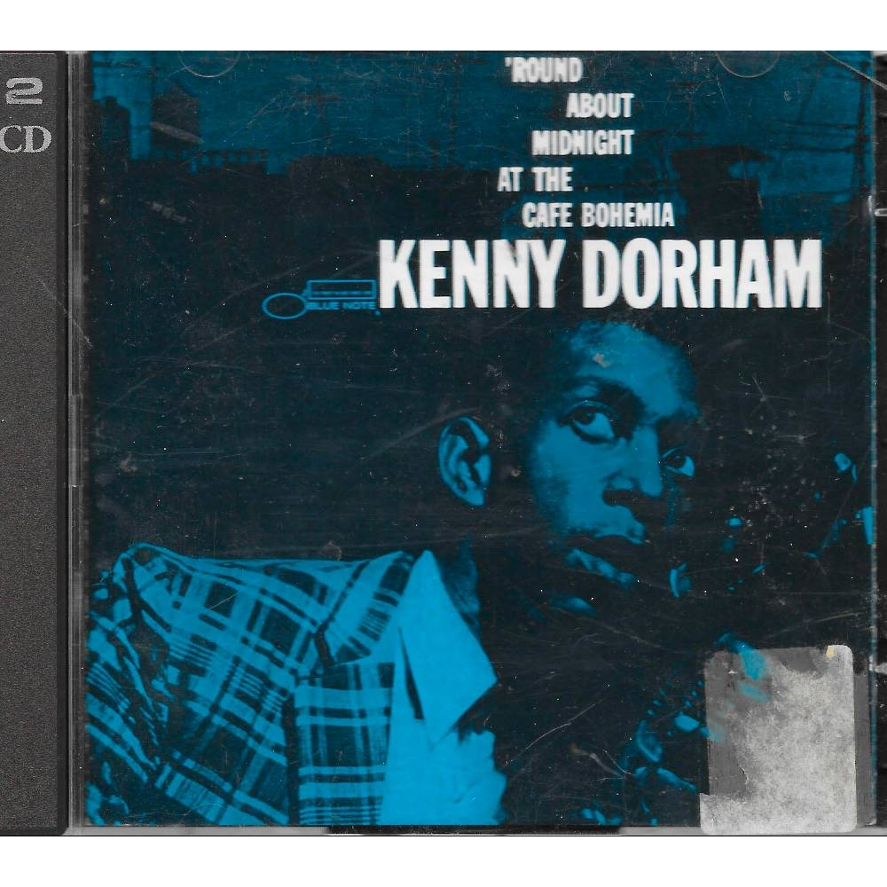 Preview of the first image of ROUND ABOUT MIDNIGHT AT THE CAFE BOHEMIA - Kenny Dorham.
