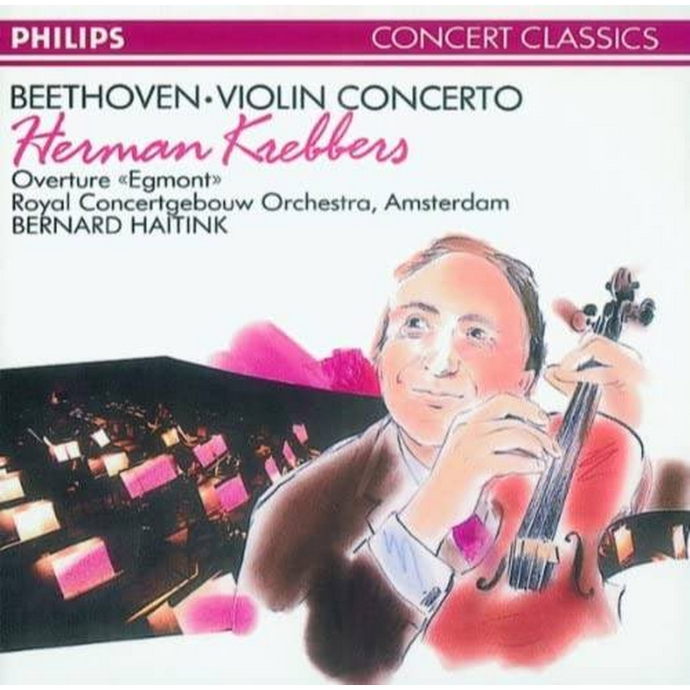 Preview of the first image of Beethoven, Herman Krebbers - Violin Concerto.