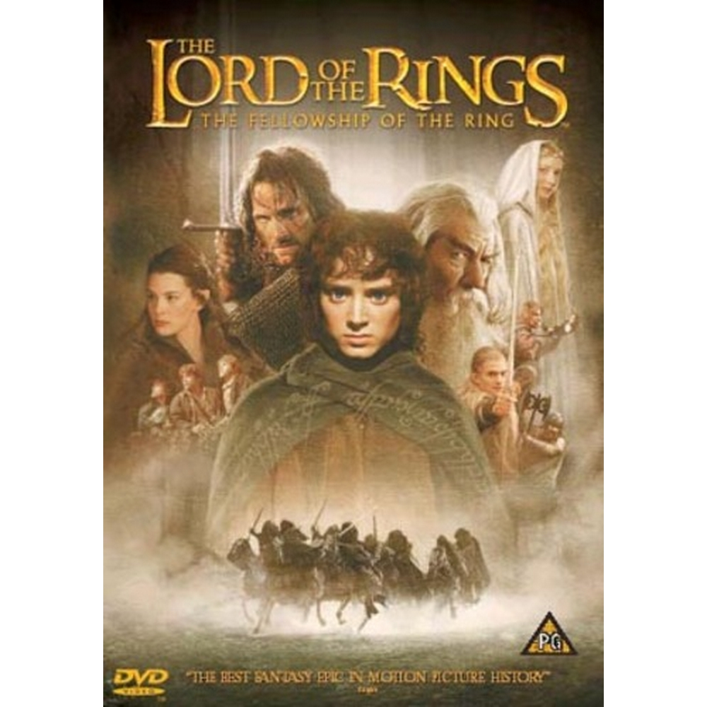 Preview of the first image of The Lord of the Rings: The Fellowship of the Ring.
