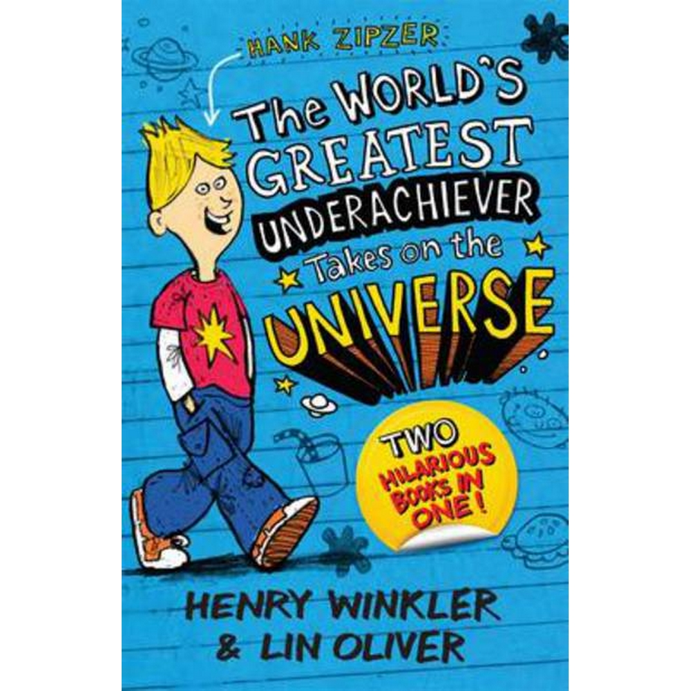 Preview of the first image of Hank Zipzer bind-up: The World's Greatest Underachiever Takes on the Universe.