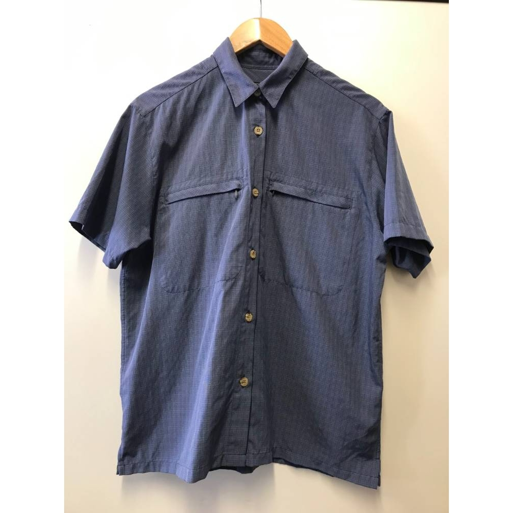 Preview of the first image of Rohan Short sleeve Shirt- Blue- Size: M.