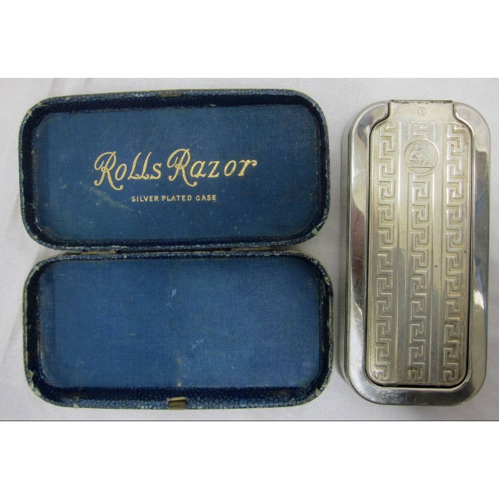 Preview of the first image of Rolls razor imperial complete with box.