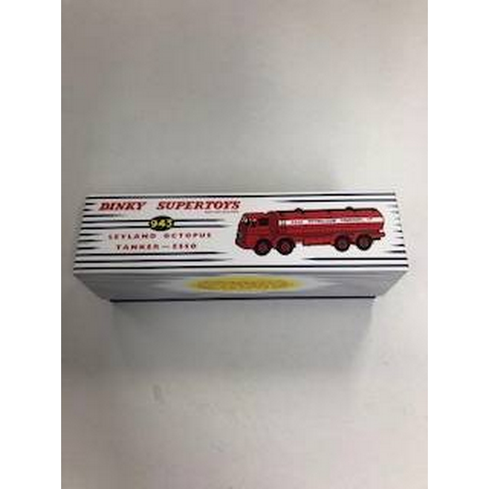 Preview of the first image of Dinky Supertoys 943 Leyland Octopus Tanker - ESSO: Red Road Tanker.