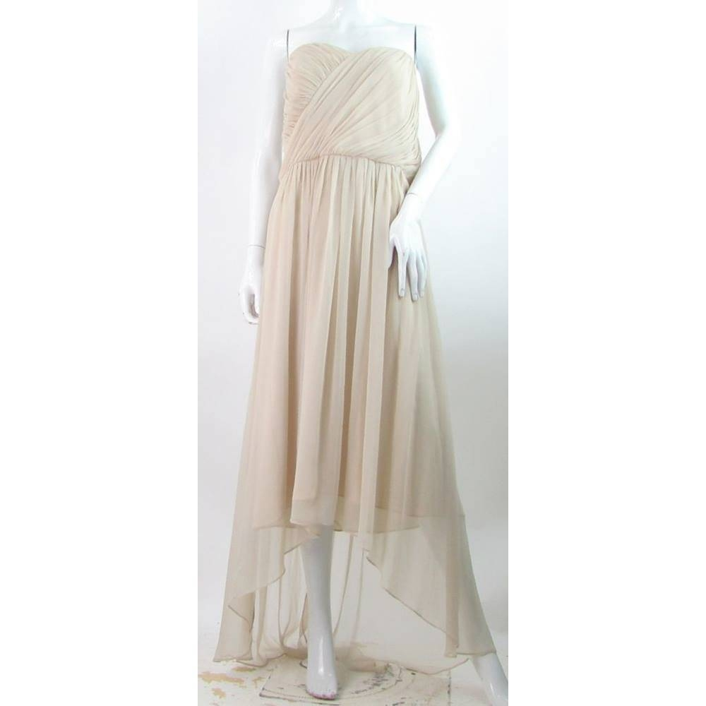 Preview of the first image of BNWT Lela Rose - Size: 16 - Cream - Dress.