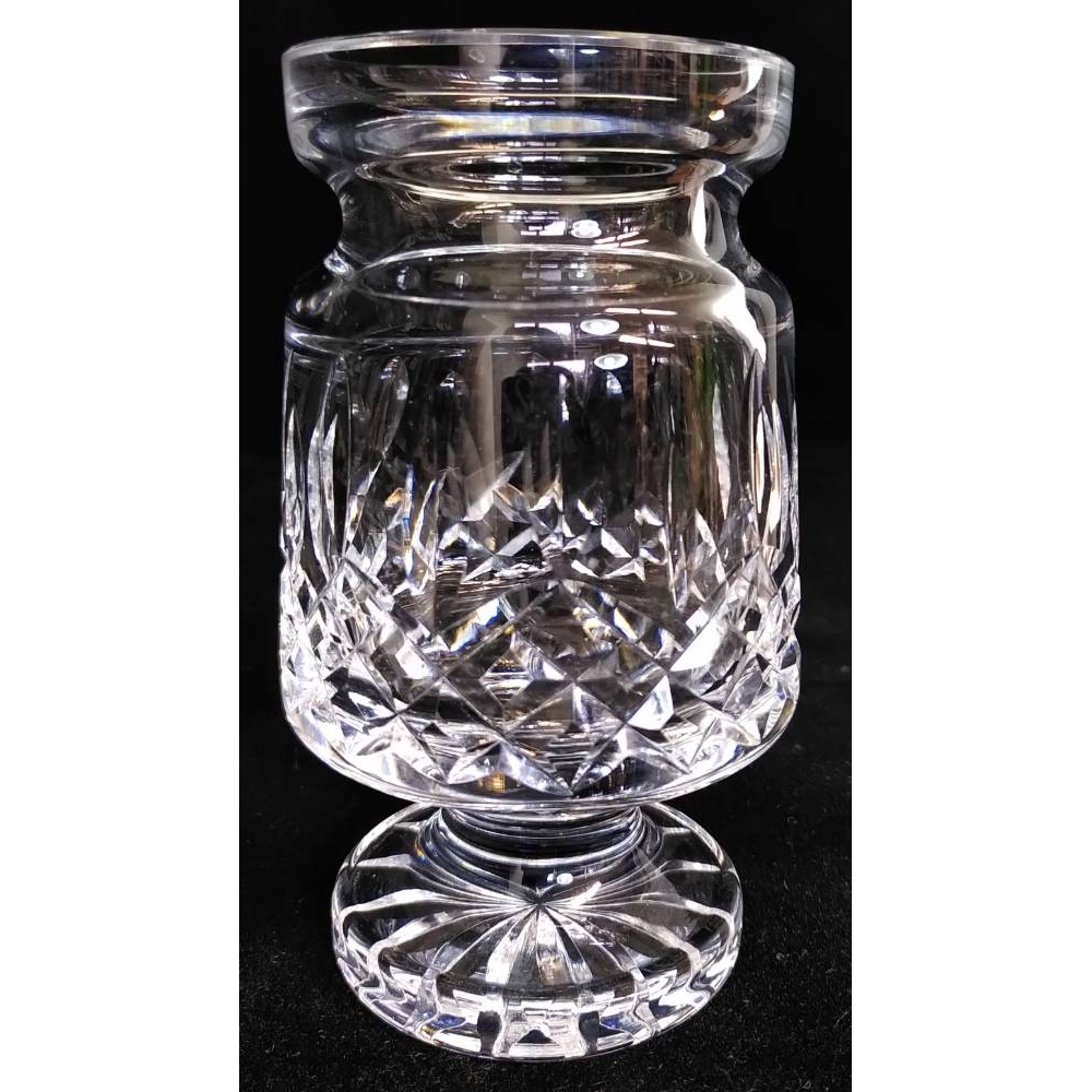 Preview of the first image of Waterford Lismore Crystal Vase, Small.