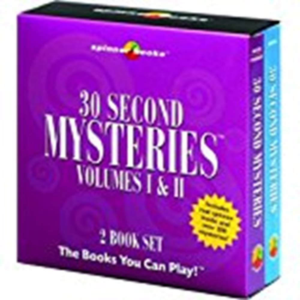 Preview of the first image of 30 Second Mysteries Volumes I & II.