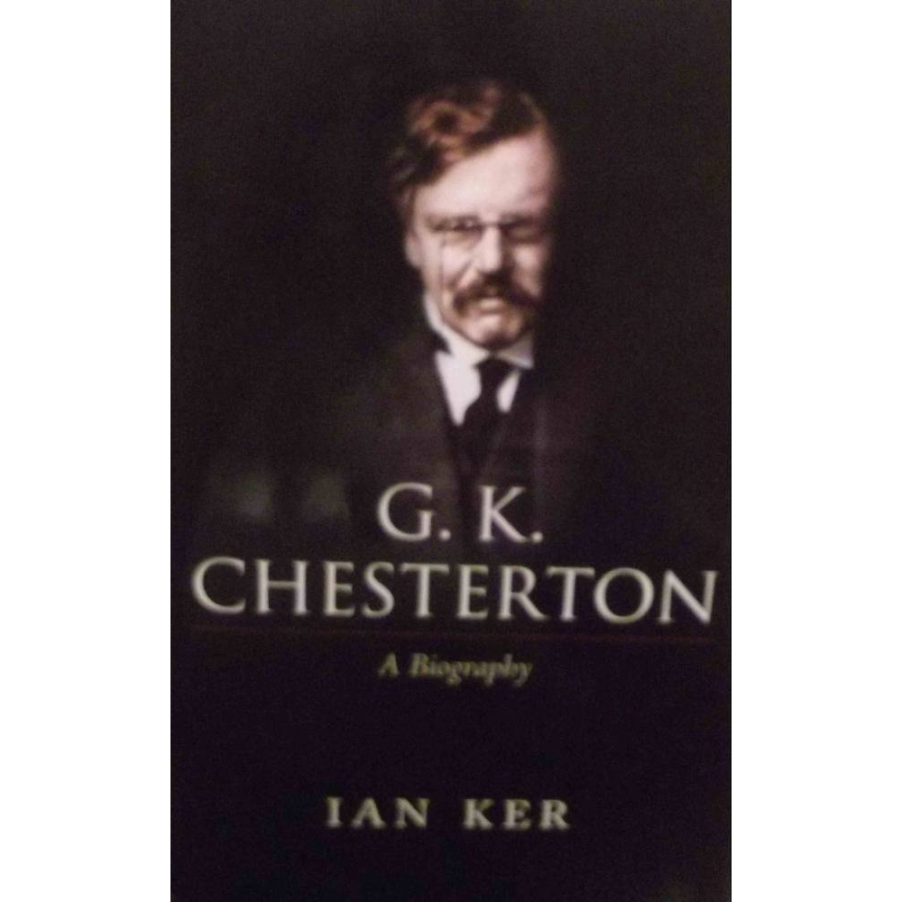 Preview of the first image of G. K. Chesterton A biography.