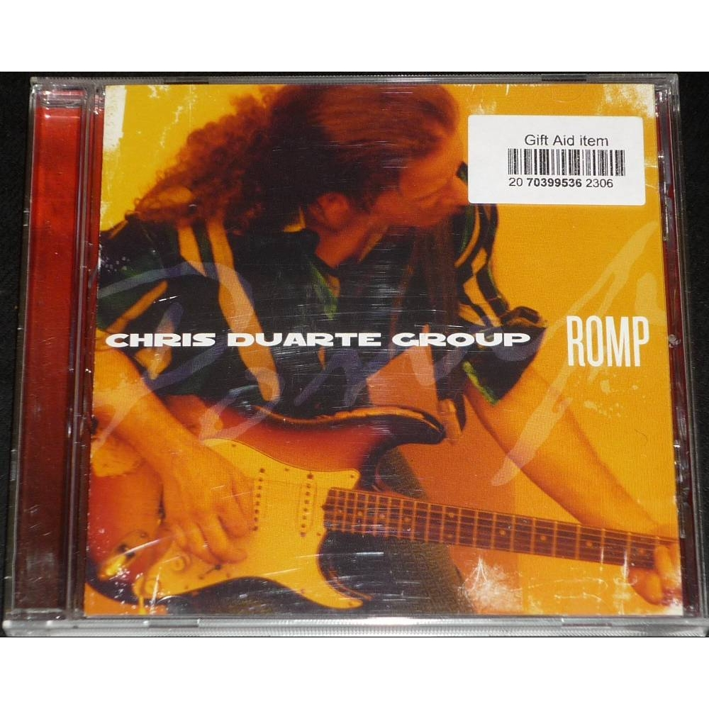 Preview of the first image of Chris Duarte Group, Romp, Zoe Records CD.