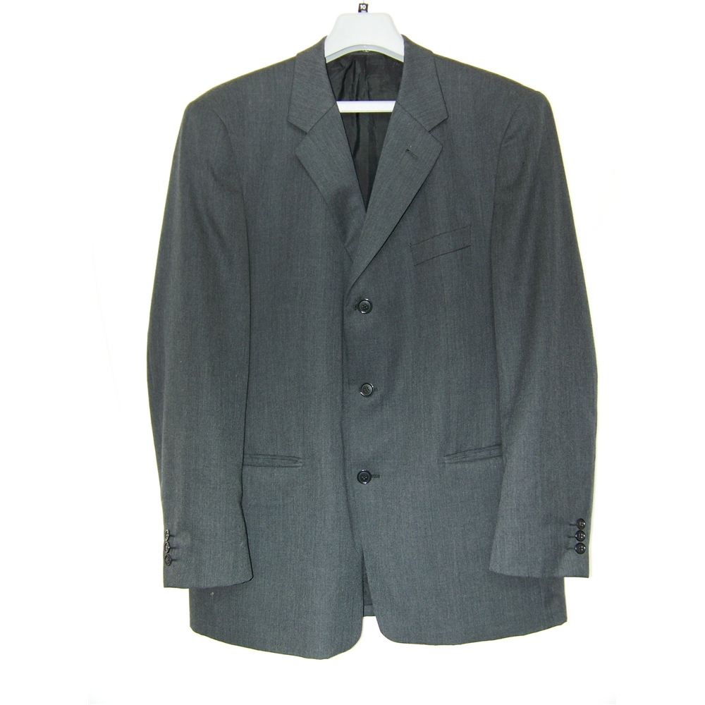 Preview of the first image of Ciro Citterio  Single breasted suit jacket grey Size: L.