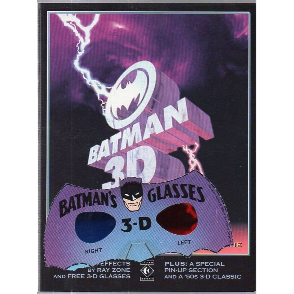 Preview of the first image of Batman 3D Graphic Novel.