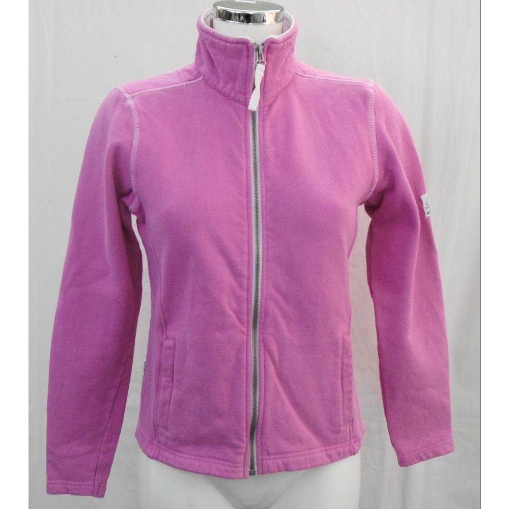 Preview of the first image of Lazy Jacks jersey jacket pink Size: XS.