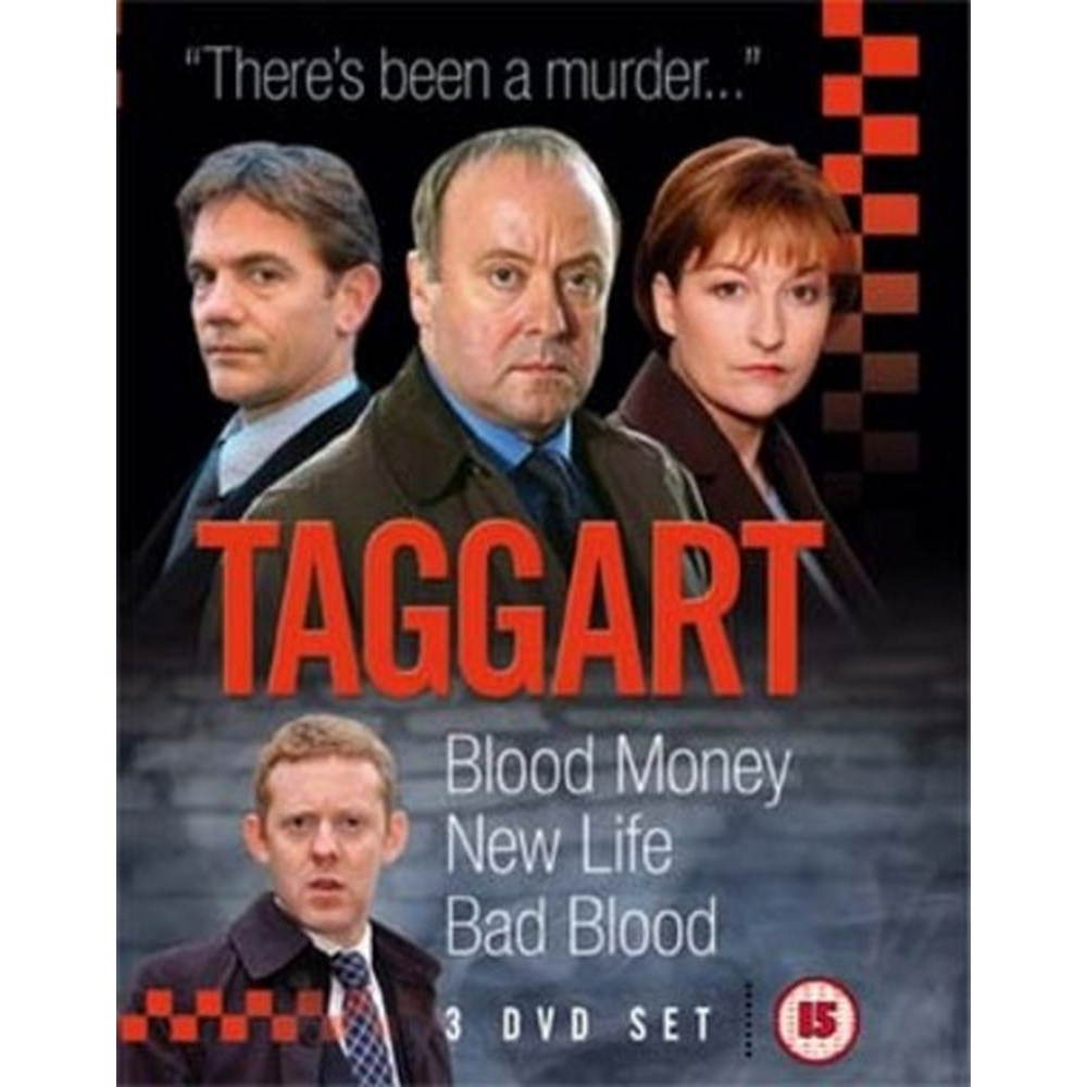 Preview of the first image of Taggart: 3 Classic Episodes - 2.