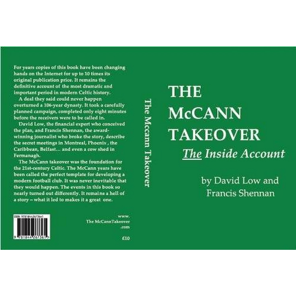 Preview of the first image of The McCann Takeover: The Inside Account.