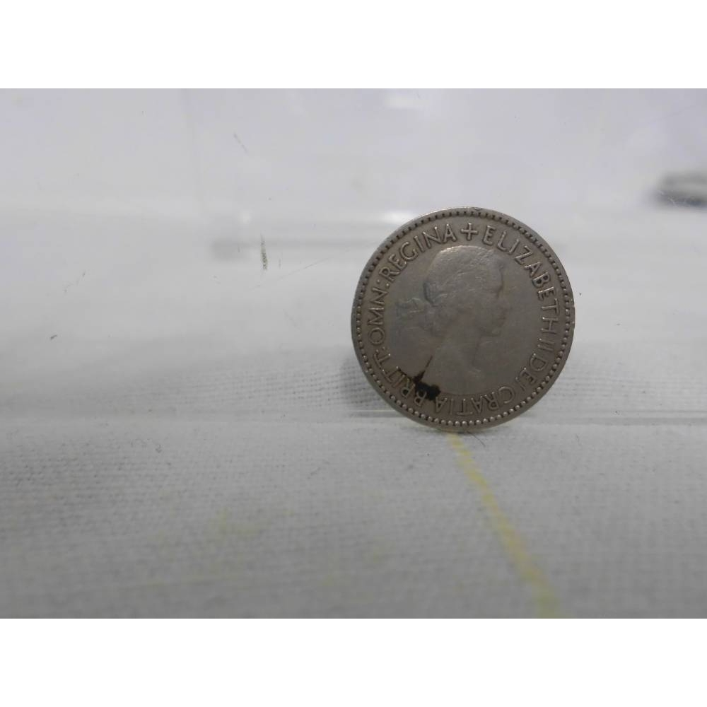 Preview of the first image of Queen Elizabeth II 1953 Sixpence.
