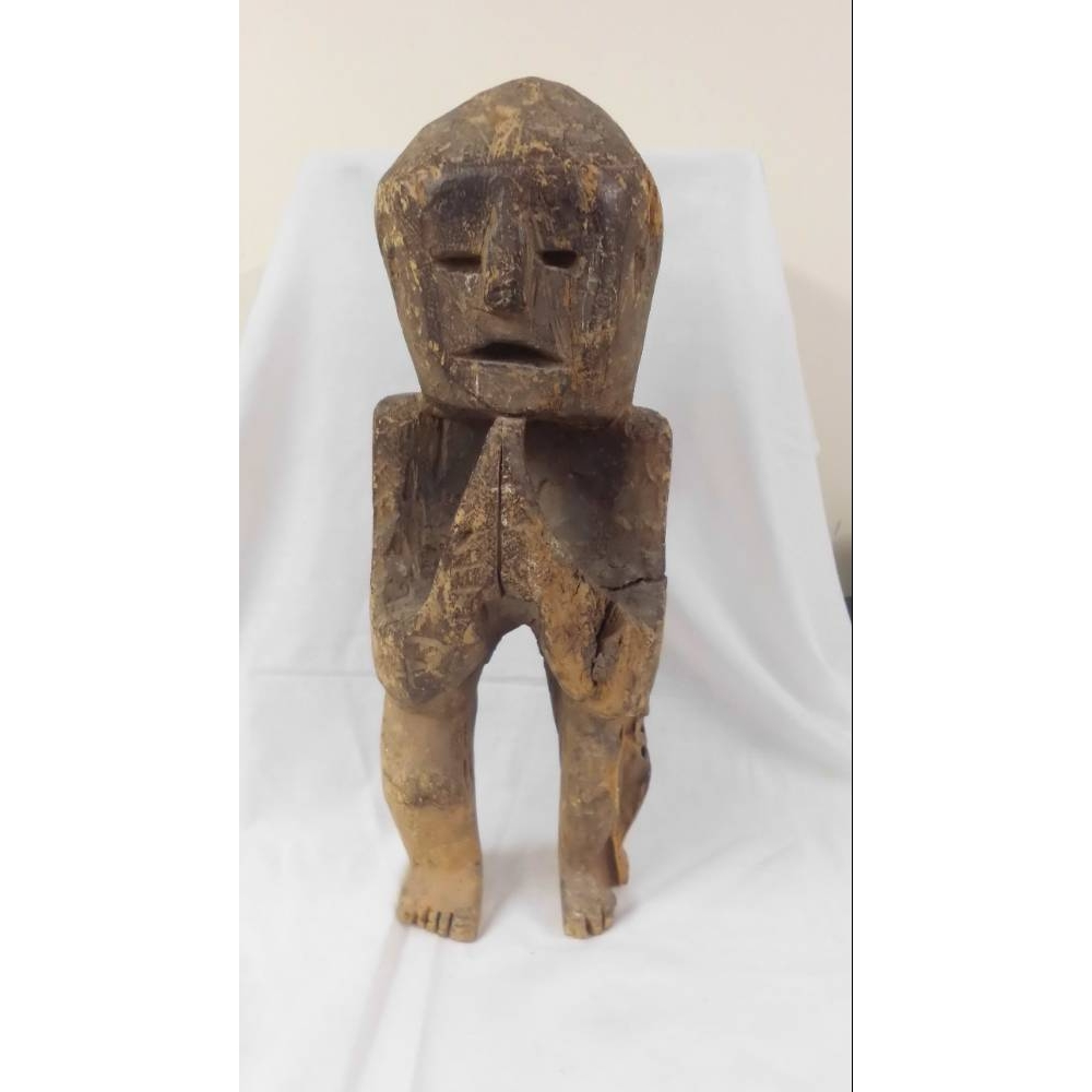 Preview of the first image of Nepalese Primitive Guardian Figure.