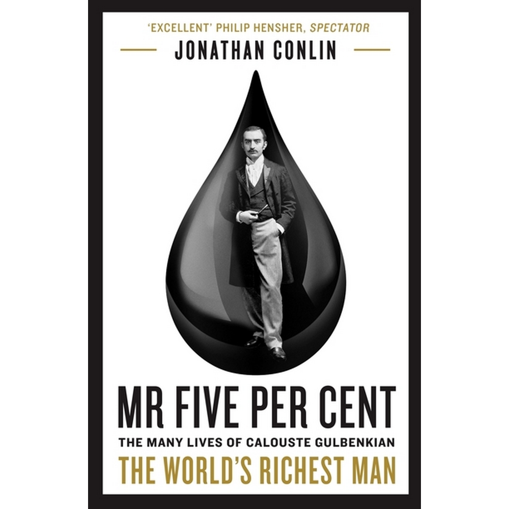 Preview of the first image of Mr Five Per Cent: The Many Lives of Calouste Gulbenkian, The World's Richest Man.