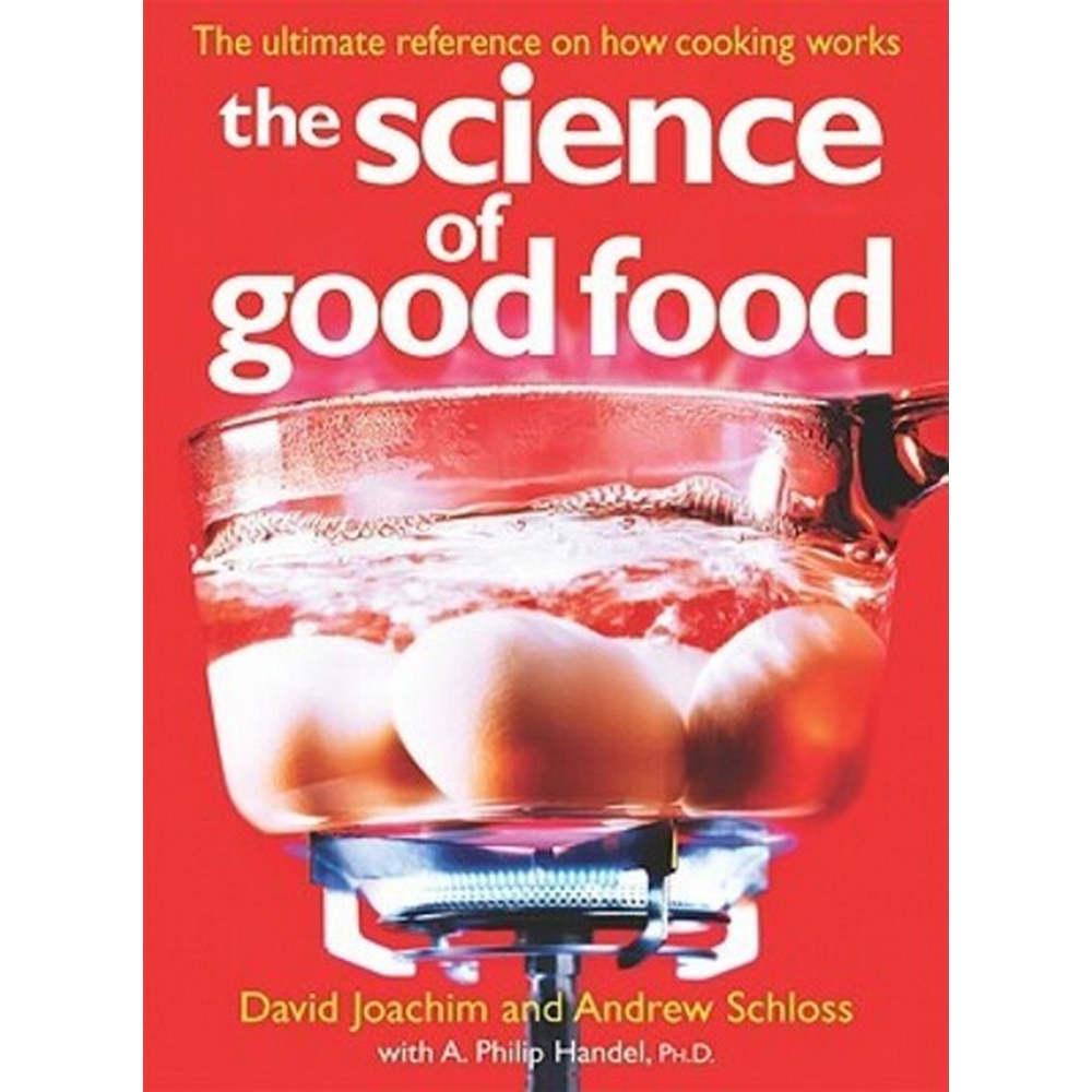 Preview of the first image of The Science of Good Food.