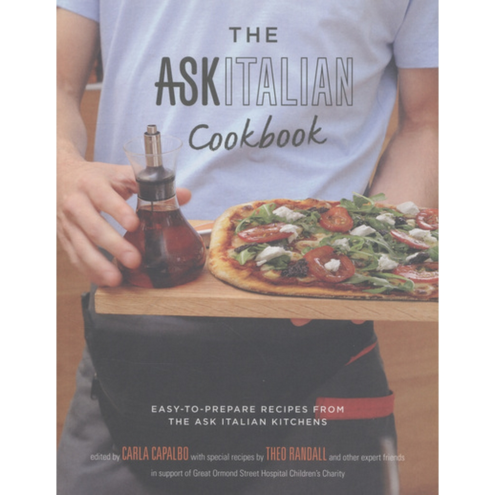 Preview of the first image of The ASK Italian cookbook.