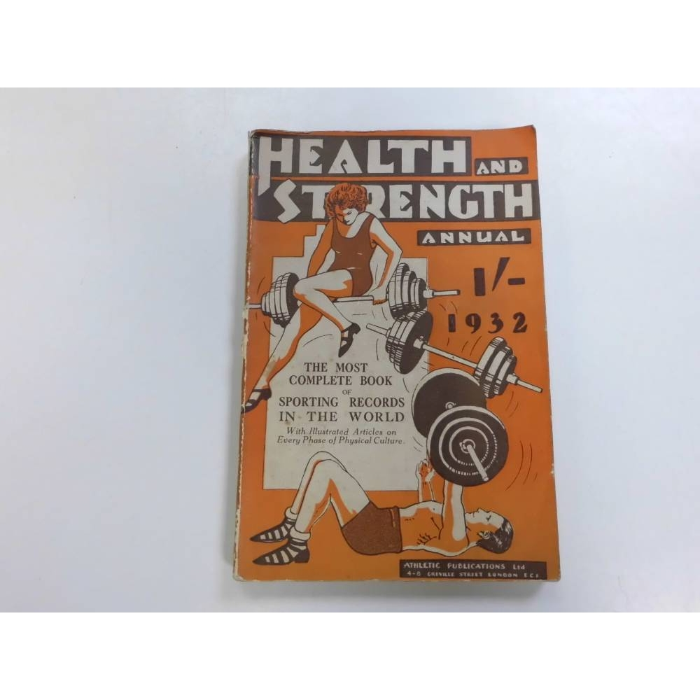 Preview of the first image of Health and Strength Annual 1932.