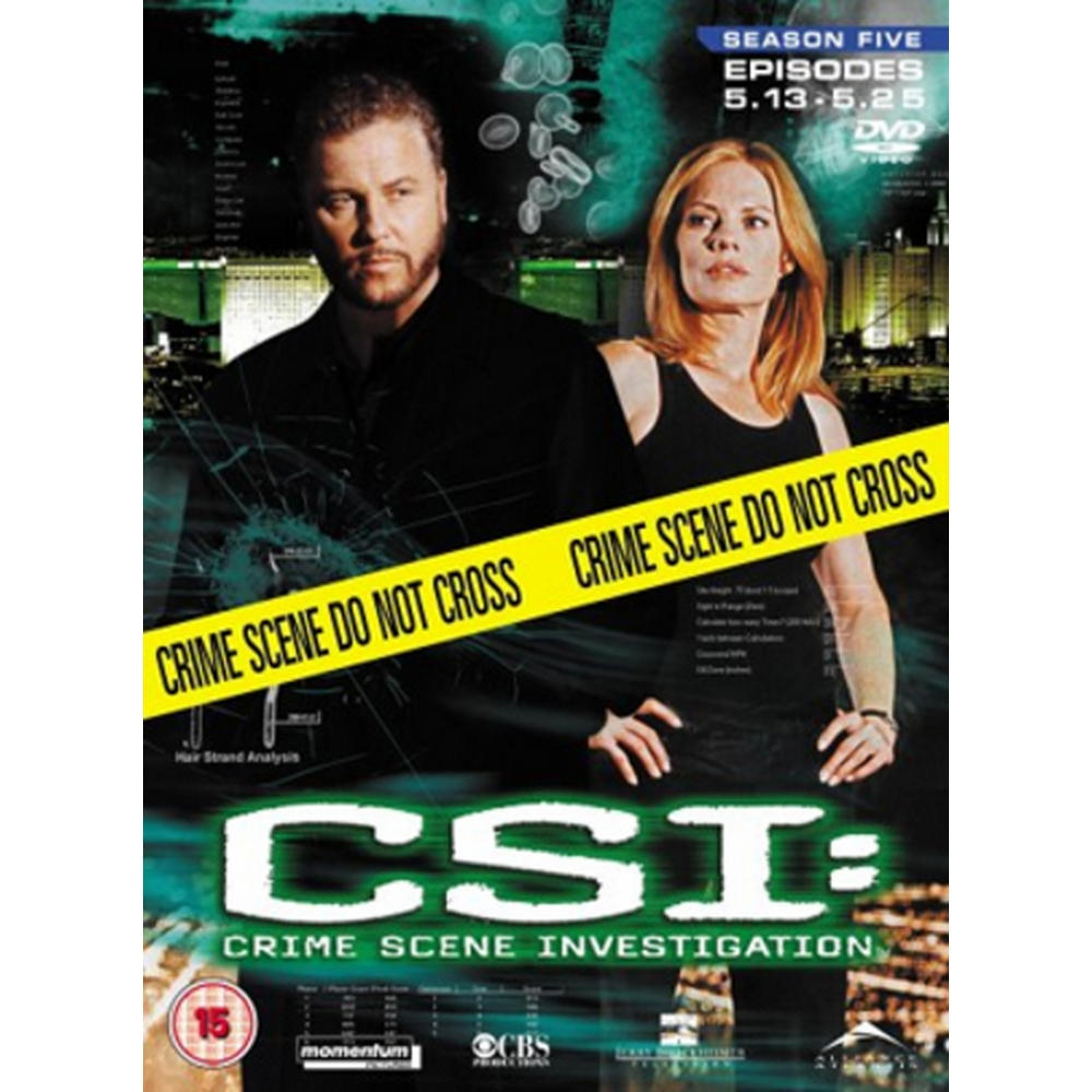 Preview of the first image of CSI - Crime Scene Investigation: Season 5 - Part 2.