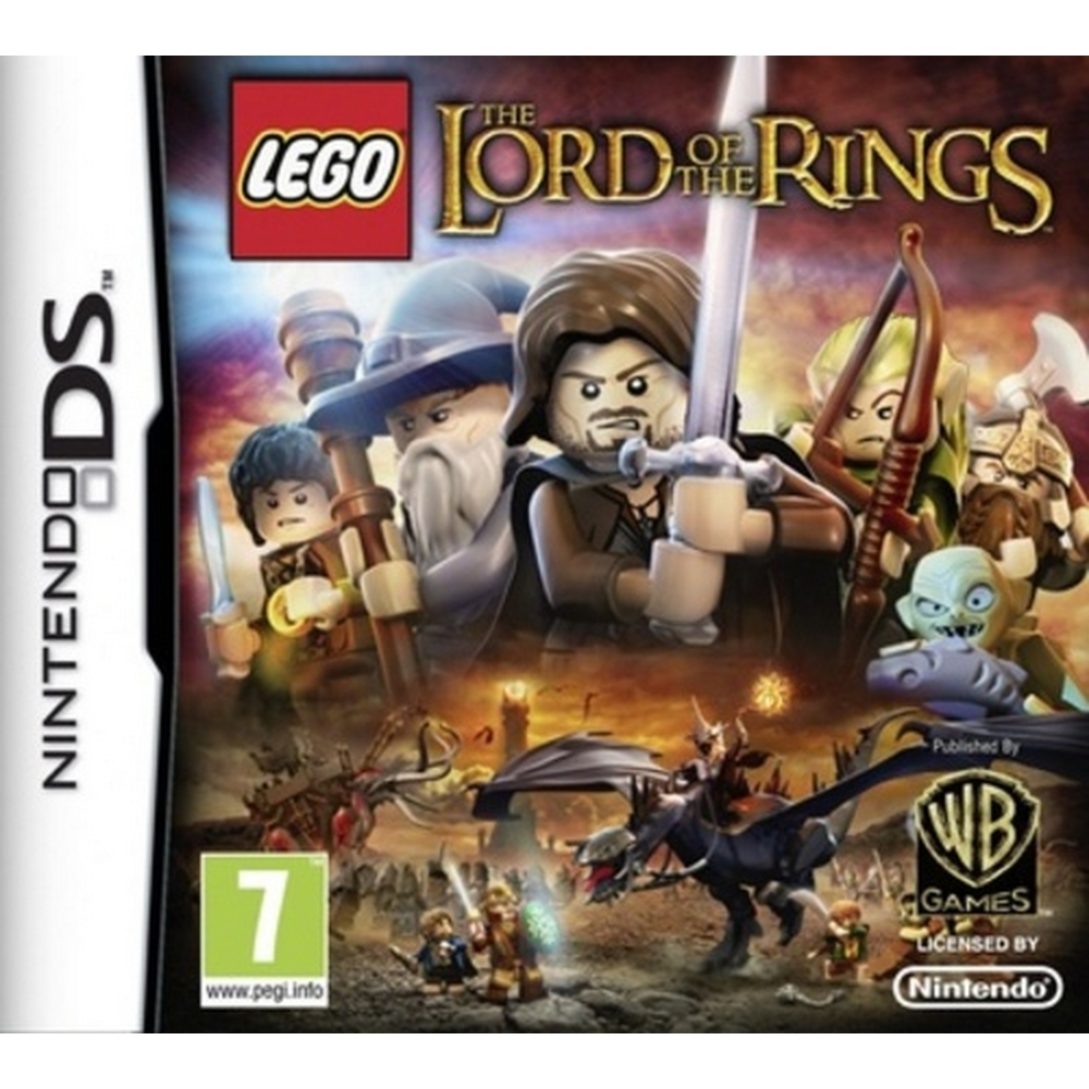 Preview of the first image of LEGO: The Lord of the Rings.