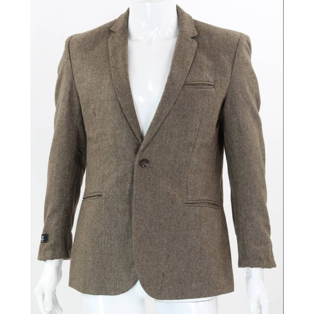 Preview of the first image of O&Z 1996 Sports Jacket Brown Size: M.