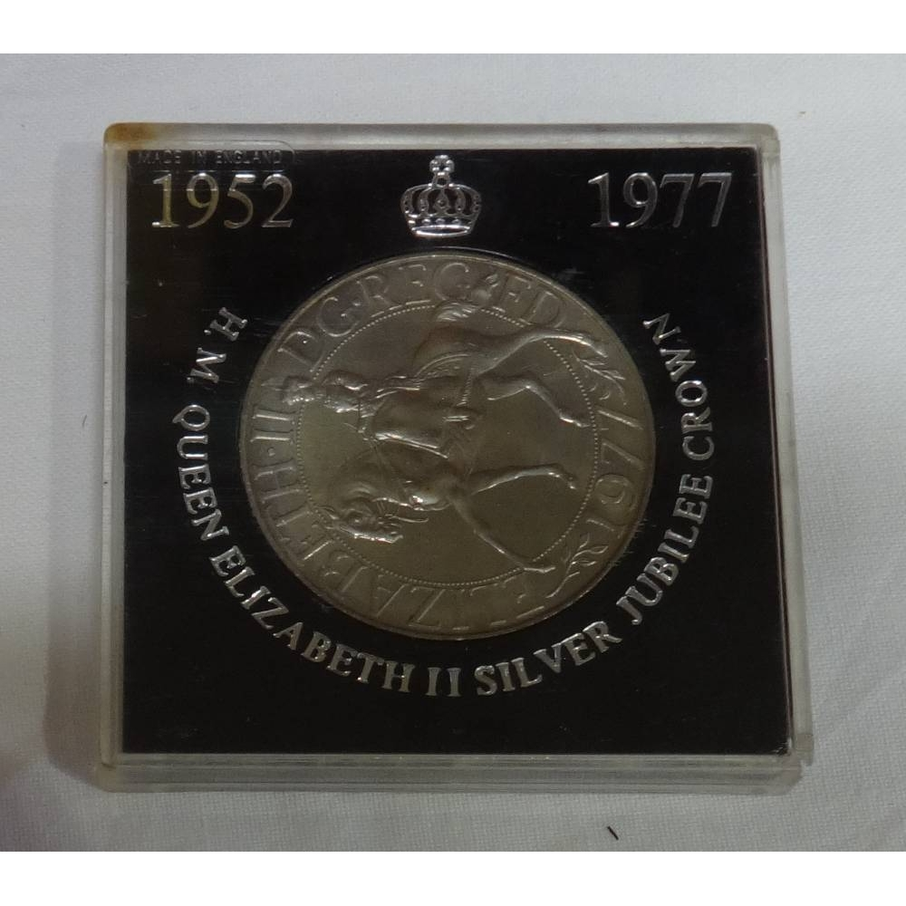 Preview of the first image of 1977 Silver Jubilee Crown.