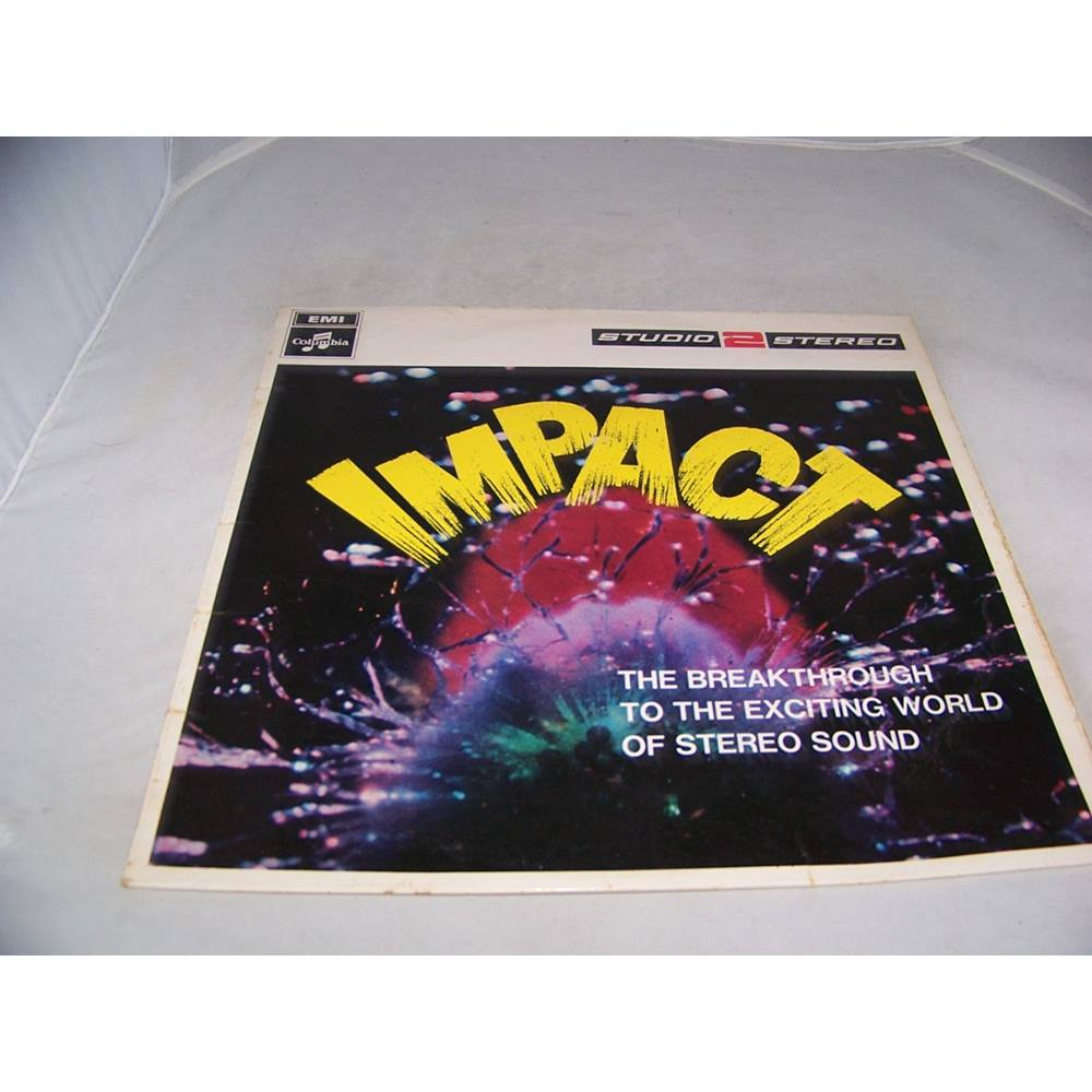 Preview of the first image of Impact - the Breakthrough to the Exciting World of Stereo Sound - stwo 2 - LP.