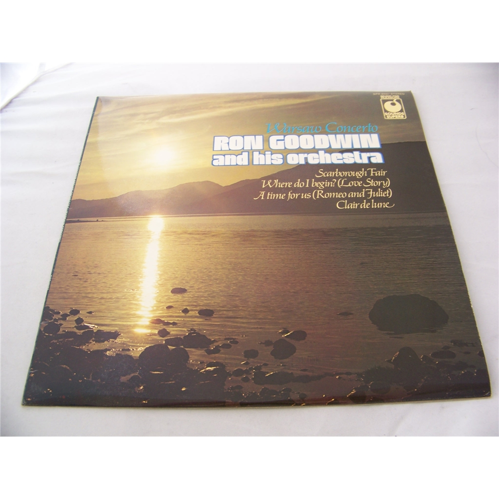 Preview of the first image of Warsaw Concerto Ron Goodwin and his Orchestra - spr 90027 - LP.