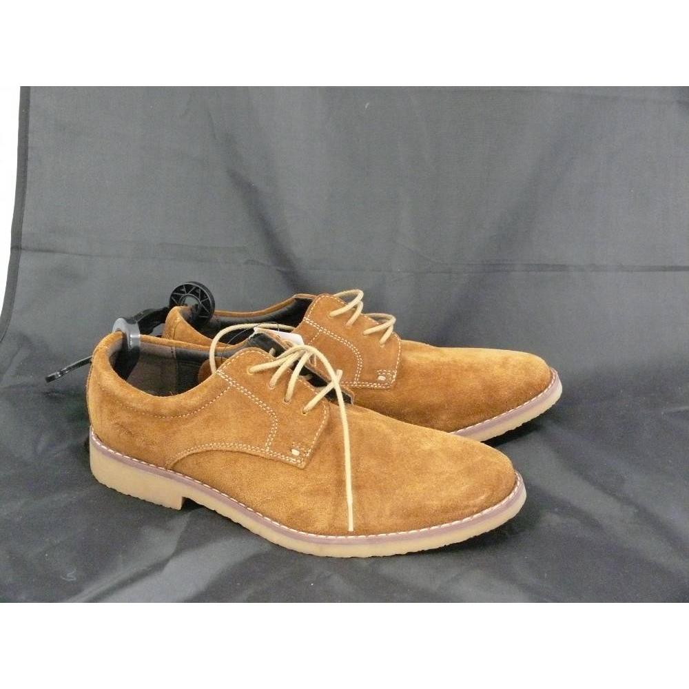 M\u0026S Marks \u0026 Spencer kids shoes brown