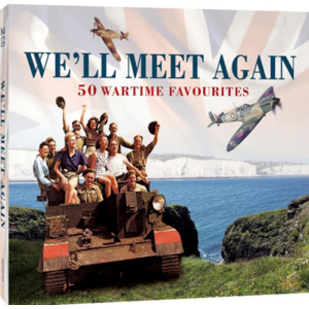 Preview of the first image of We'll Meet Again : 2 CD Wartime Favourites (Sealed).