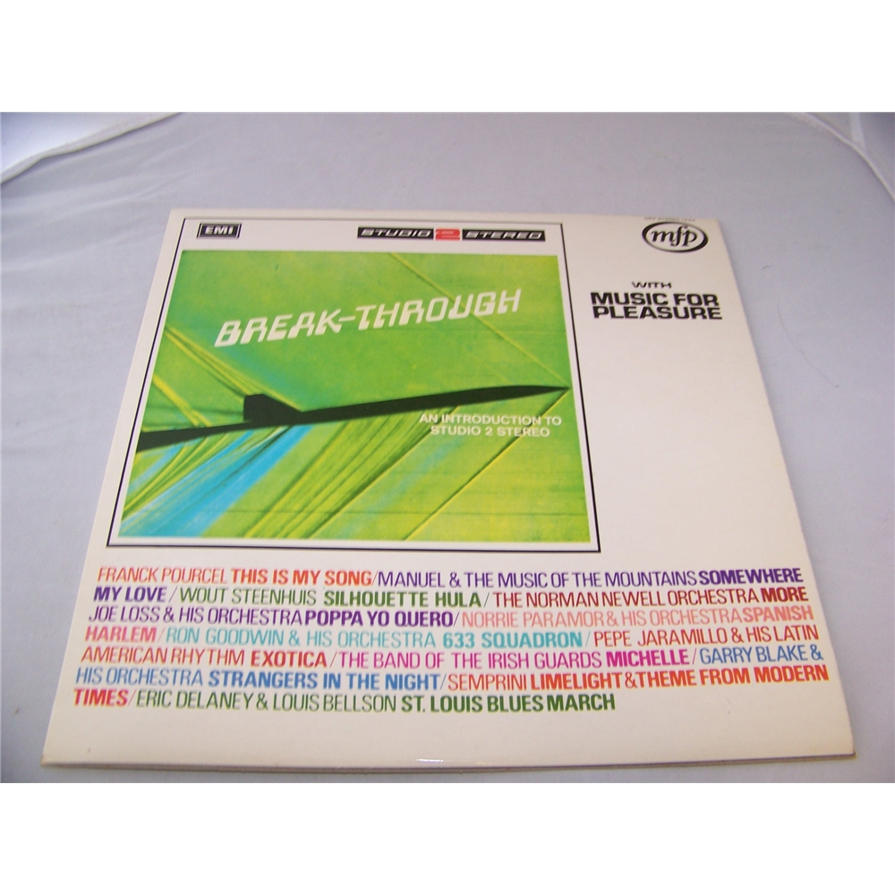 Preview of the first image of breakthrough various artists - mfp 1334 - LP.