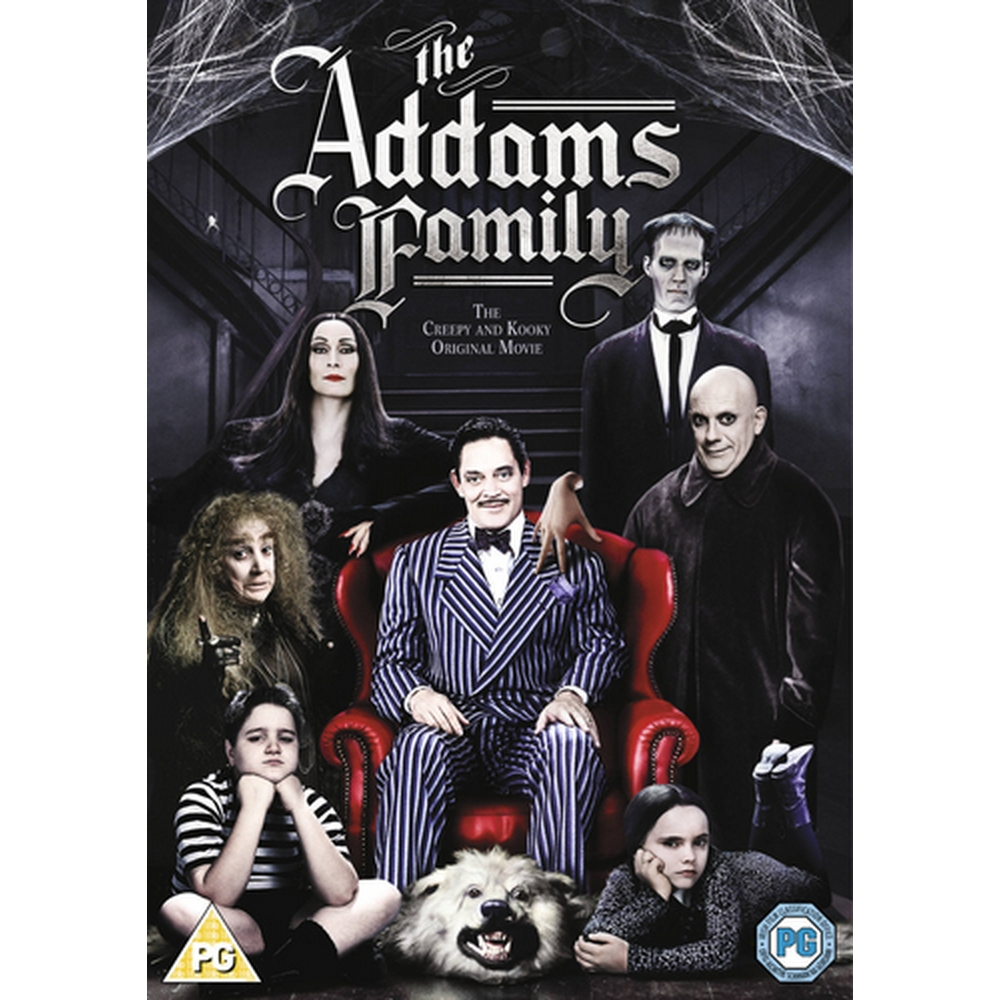 Preview of the first image of The Addams Family.