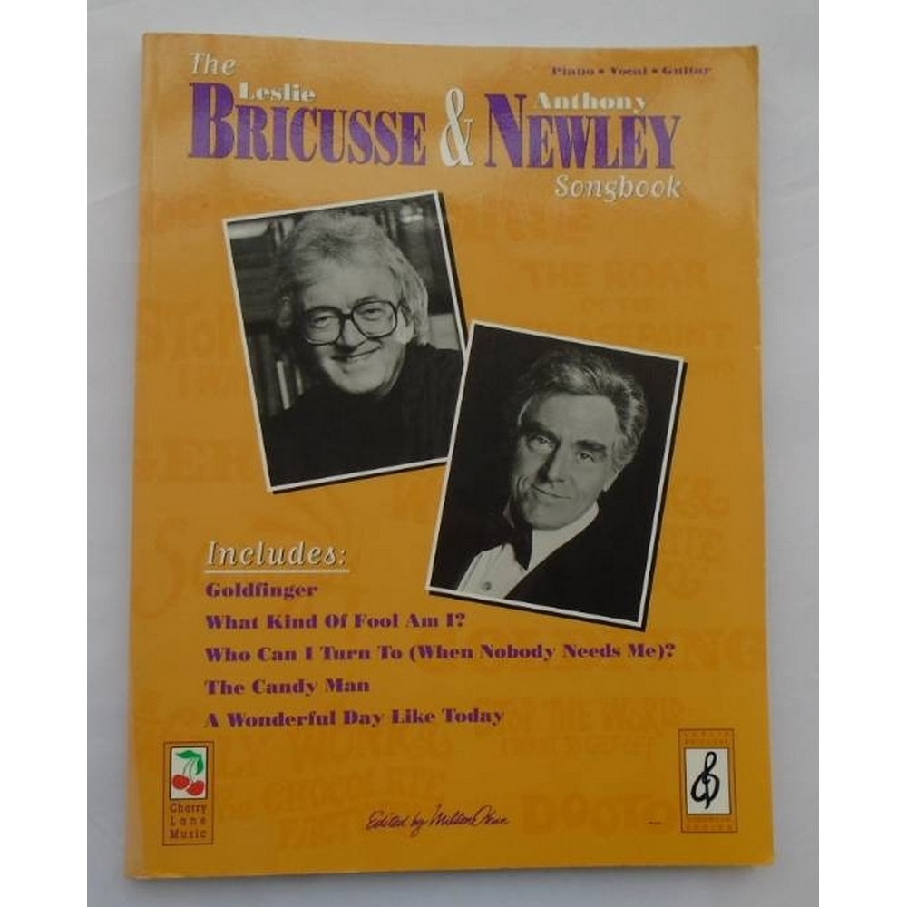 Preview of the first image of The Leslie Bricusse and Anthony Newley Songbook.