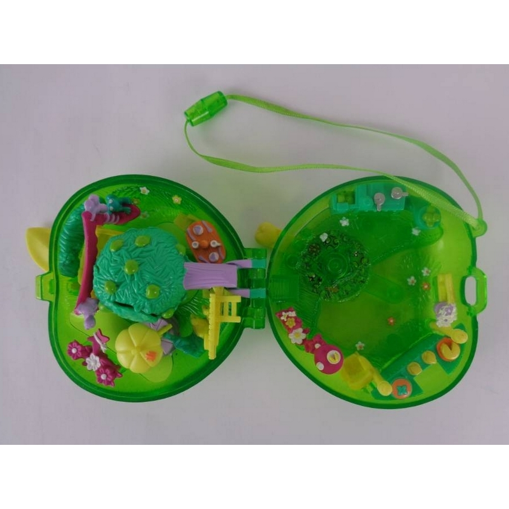 Preview of the first image of Origin Products Vintage Polly Pocket 2000 Fruit Surprise Apple.
