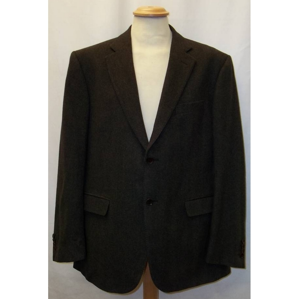 Preview of the first image of Cerruti 1881 smart wool blazer brown Size: L.