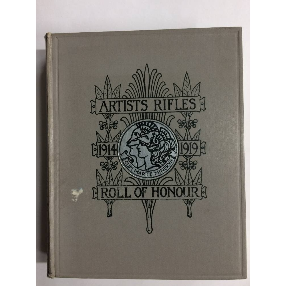 Preview of the first image of Artists Rifles - Regimental Roll of Honour and War Record 1914-1919.