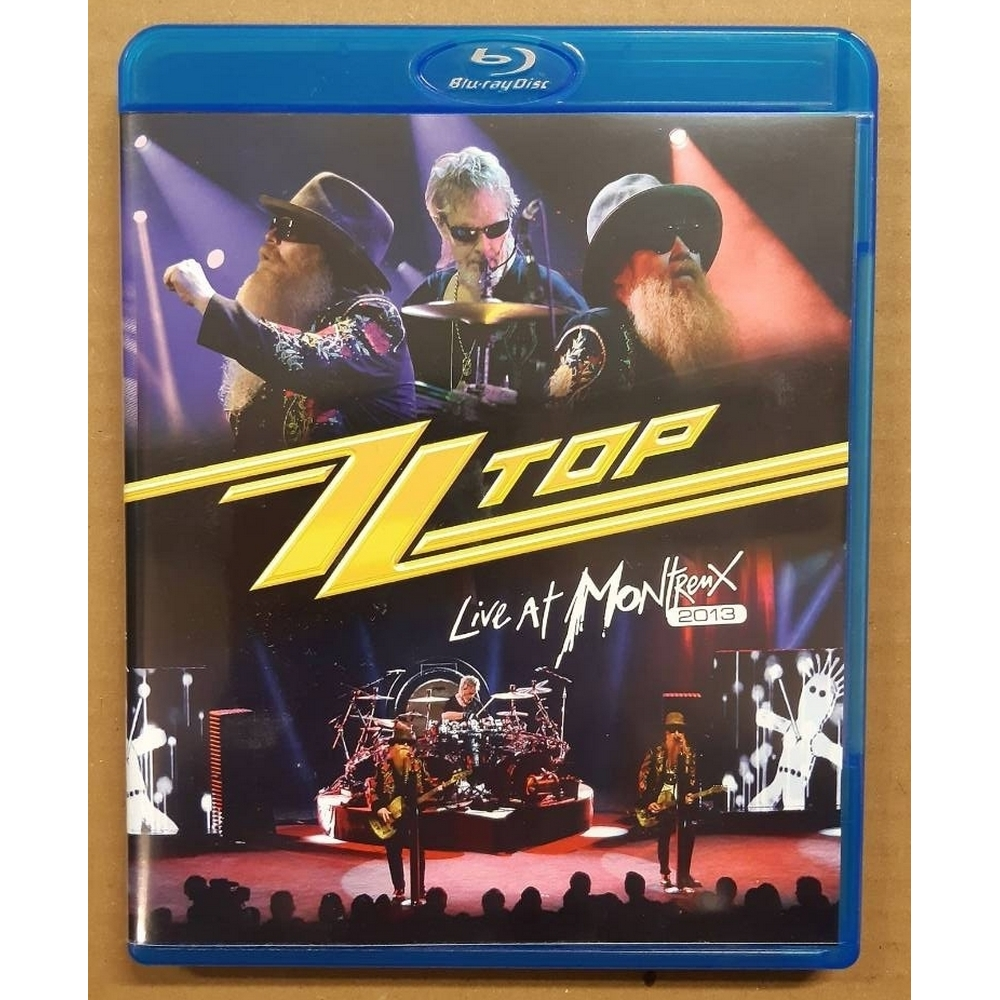 Preview of the first image of ZZ Top: Live at Montreux 2013 - blu ray disc.