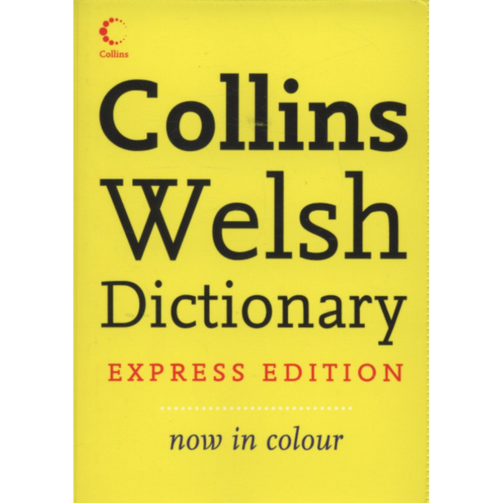 Preview of the first image of Collins Welsh dictionary.