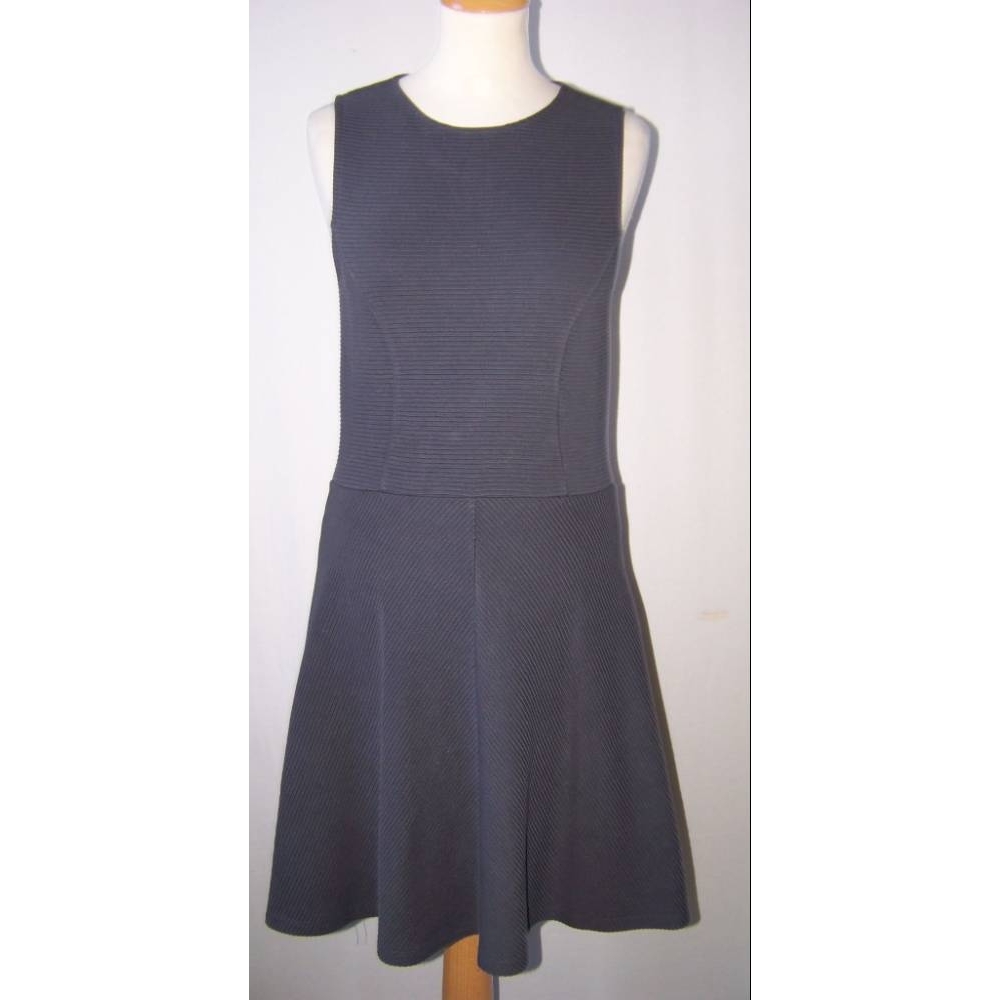 Preview of the first image of Jack Wills Sleeveless dress Grey Size: 10.