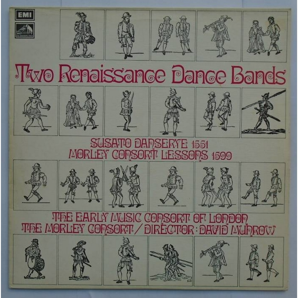 Preview of the first image of Two Renaissance Dance Bands.