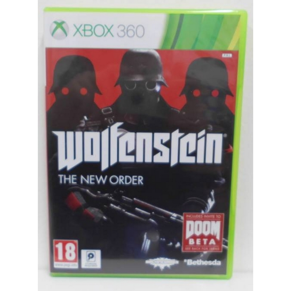 Preview of the first image of Wolfenstein: The New Order (Xbox 360).