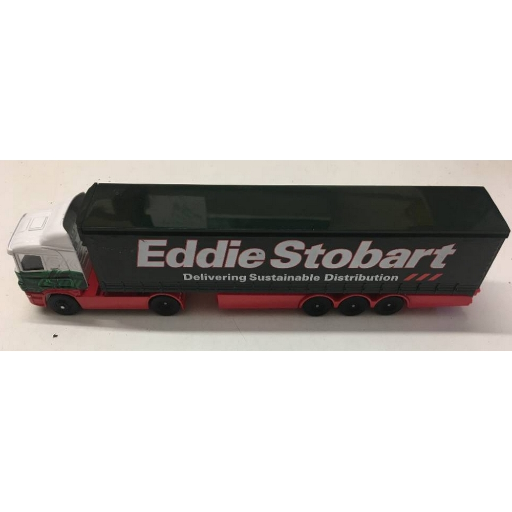 Preview of the first image of Eddie Stobart Diecast Curtainside Articulated Trailer Lorry Delivery Truck Toy by Corgi.