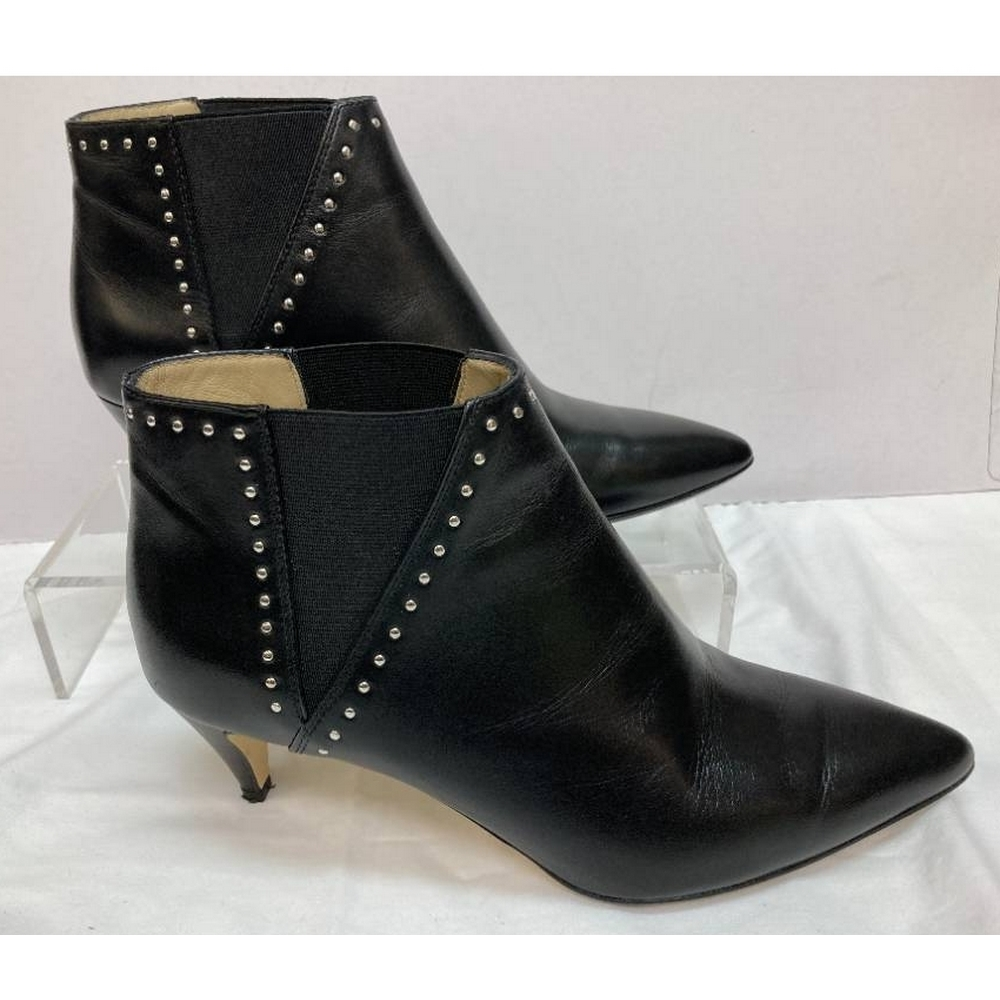 Preview of the first image of Hobbs London Women's Ankle Boot Black Size: 5.