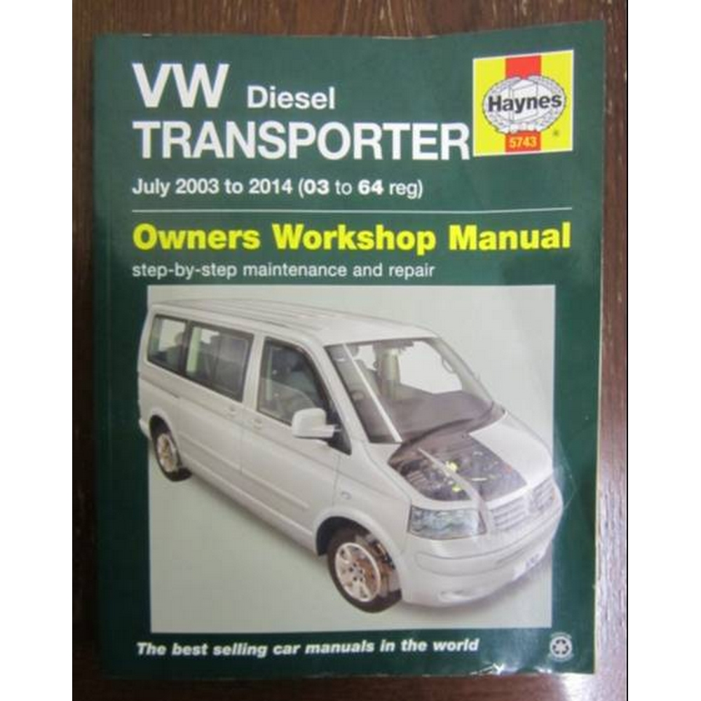 Preview of the first image of VW Diesel Transporter 'T5' (July 2003 to 2014) (Haynes Owners Workshop Manual).