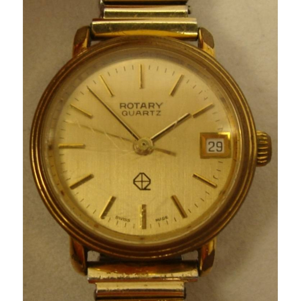 Preview of the first image of Ladies Rotary Quartz Calendar Watch (Size 16cm+).