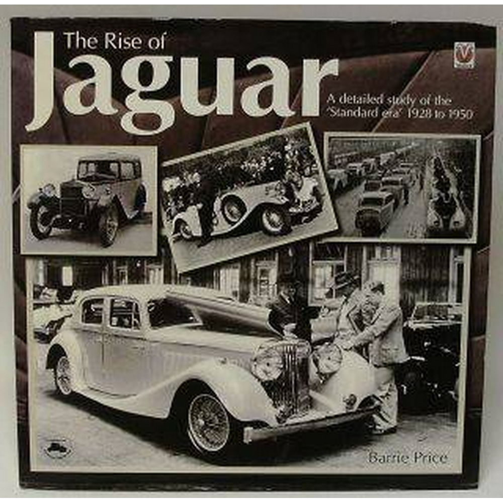 Preview of the first image of The Rise of Jaguar - A Detailed Study of the 'Standard era' 1928 to 1950.