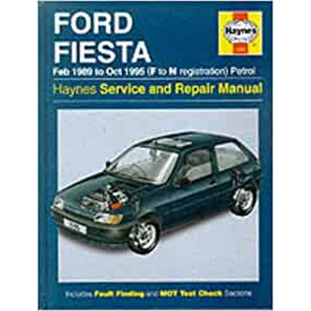 Preview of the first image of Haynes Ford Fiesta Owners Workshop Manual.