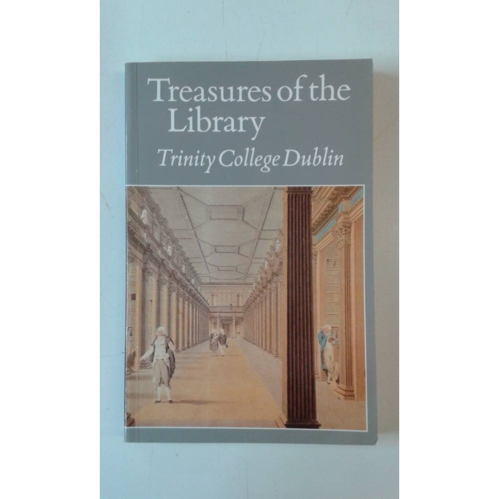 Preview of the first image of Treasures of the Library Trinity College Dublin.
