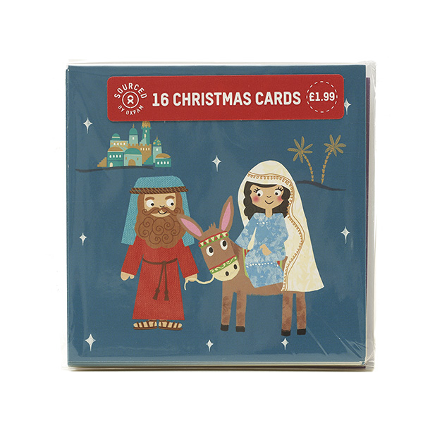 Religious Christmas Cards For Kids.Mini Religious Kids Xm18 16 Pack Oxfam Gb Oxfam S Online Shop